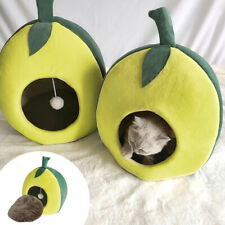 Cat Beds for Indoor Cats Cave Soft House Kennel Igloo Pet Dog Kitten Sleep Nest