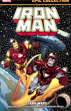 IRON MAN: STARK WARS TPB Marvel Comics Epic Collection Vol #13 1987-1988 TP