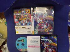 megaman X7 RockMan X7 PS2 Sony PlayStation 2 with hagaki F/S Japanese Edition