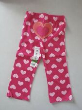 Jumping Beans by Kohl's Girls Cotton Stretch Leggings 24M New