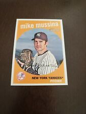 2008 Topps Heritage Mike Mussina #530 Yankees
