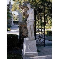 Mythological Roman Goddess Venus de Milo Aphrodite of Milos Grand Sculpture