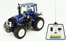 Tronico Metallbaukasten RC Traktor Fernsteuerung New Holland