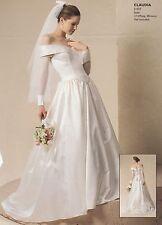 Wedding Dress, Veil and Petticoat - Jessica McClintock - Vintage 1990's
