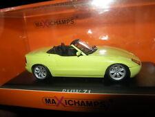 1:43 MAXI Champs BMW z1 1991 YELLOW/GIALLO N. 940020100 OVP