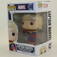 Funko POP! Marvel Vinyl Bobble Figure - CAPTAIN MARVEL #148 *Non Mint Box*