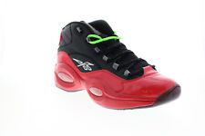 Reebok Question Mid G57551 Mens Black Synthetic Athletic Basketball Shoes