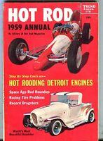 Custom Cars Magazine 1959 Annual GD 043017nonjhe