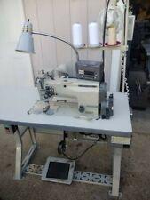 Mitsubishi Lt2-2250, Lt2-250 Automatic Double/Single Needle Machine w/4' table