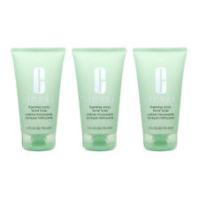 3 X Clinique Foaming Sonic Facial Soap 5oz, 150ml