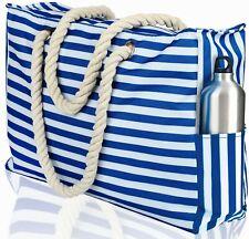 "Beach Bag XXL | Waterproof (IP64) | L22""xH15""x W6"" (56x38x15cm) | Top Zipper"