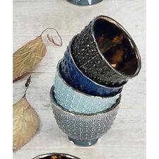 Hoff Interieur Schalen Tosca 4er Set Porzellan 10cm f. Süßigkeiten Knabbersachen
