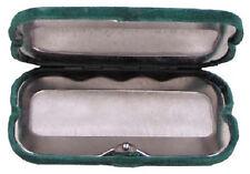 Handwärmer Taschenwärmer grün / oliv mit Samtsäckchen für Kohlebrennstäbe NEU
