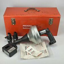 Ridgid K 37b Cordless 72v Drain Cleaner Kollman Old Stock Professional Nos
