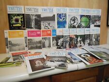 """273 Issues """"Truth Journal""""  1968 to 2017  Roy Eugene Davis  Soft cover, 5.5 x 8."""