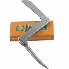 Marbles Stainless Steel Riggers Marlin Spike Pocket Knife and Bail