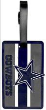 NEW aminco NFL Unisex-Adult NFL Soft Bag Tag - Dallas Cowboys - Blue/ Silver