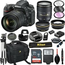 Nikon D750 DSLR Camera with 24-120mm  VR Lens + 20pc Bundle