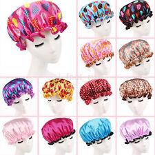 Women Shower Caps Colorful Bath Shower Hair Cover Adults Waterproof Bathing RU