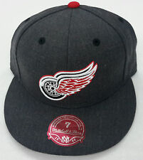 NHL Detroit Red Wings Mitchell and Ness Cap Vintage Hat M&N NEW!