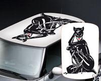 00049 Adesivi Auto Stickers Mini Cooper 500 Smart Catwoman 88x126 cm