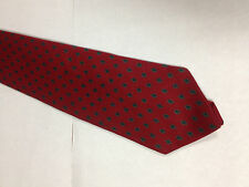 Mens Red Green Gold SILK Tie Necktie OAKTON~ FREE US SHIP (11514)