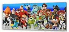 "Disney Infinity II Canvas   22""x10""  Framed Picture"