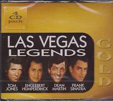 LAS VEGAS LEGENDS - TOM - ENGELBERT - DEAN - FRANK on 4 CD's -  NEW -