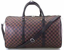 Large Designer Inspired Holdall Weekend Luggage Duffel Cabin Travel Case Bag