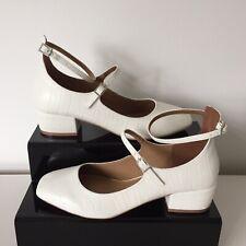 ASOS Beige Block Heel Shoes Women`s Size UK 8 Brand New