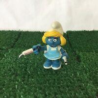Smurfs Nurse Smurfette 20139 Vintage 1981 Toy Figure Schleich Peyo
