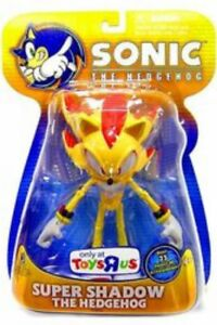 """Sonic the Hedgehog SUPER Shadow THE HEDGEHOG figure New Exclusive 7"""" INCH"""
