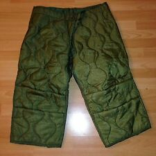 US Army Field-Trouser Liner PANTS m65 og106 Cold Weather Trouser Pantaloni FODERA