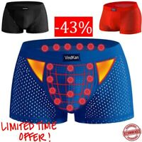 Mens Magnet Antibacterial Health Convex Underwear Model Soft Ad Confortabl Boxer