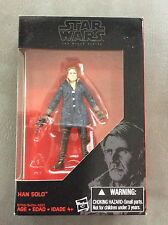 "Star Wars The Black Series Han Solo 3.75"" Walmart Exclusive Figure Very Rare"