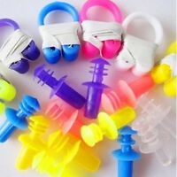 swimming Soft Nose Clip Ear Plug Earplug Water Swim pool diving