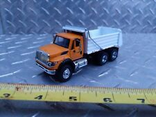 1/64 ERTL custom white bed ih workstar greenlight dump truck farm toy spec cast