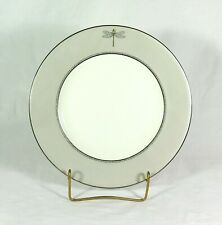 "Kate Spade June Lane Dragonfly 11"" Dinner Plate Platinum Lenox"