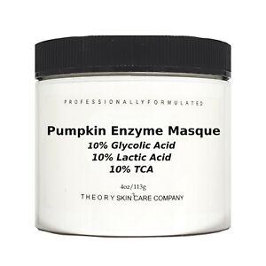 Pumpkin Enzyme Mask Peel, 10% Glycolic Acic, 10% Lactic Acid