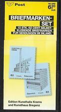 Österreich Mi 2928 -2935, FM Kunsthäuser,  Markenheftchen  0-8/0-13 **. MHE-003