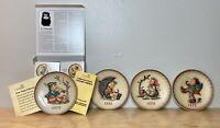 Rare!!! Lot of (4)Vintage 1973, 1978, 1979, 1983 Goebel Hummel Annual Plate.