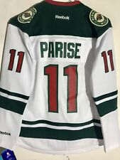 Reebok Women's Premier NHL Jersey Minnesota Wild Zach Parise White sz XL