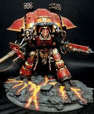 Well Painted Khorne themed Knight (recast) Warhammer 40k