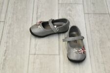 **Naturino Express Nicolina Mary Jane Flat - Toddler Girl's Size 6 - Gray