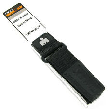 16-20mm Timex Iron Man Sport Wrap Strap Black Navy Blue Watch Band TX862962T