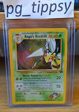 Koga's Beedrill Gym Heroes Set 9/132 Holo Excellent Condition 2000 - Pokemon Go
