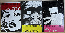 Sin City by Frank Miller German Hardcover Lot of 3 Vol. 2, 4, 5 Cross-Cult