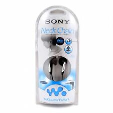 Sony MDR-E737LP Earbuds Black/Sliver with Winding Case Sealed