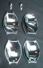 Chrome door shell+wash spray cover 6pcs for Chrysler 300C 05'-10'