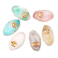 Nail Art Palette Drawing Color Plate Manicure Ring Nail Palette Resin Stone Tool